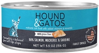 Hound & Gatos Salmon Mackerel Sardine  Cat Food