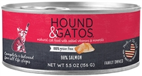 HOUND & GATOS  GRAIN FREE SALMON CAT FOOD 24-5.5 oz