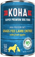 KOHA Pet Food LAMB Dog Food Entree 12-13.2 oz