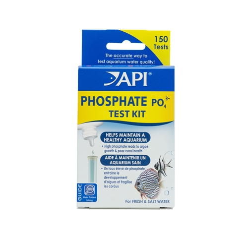 API PHOSPHATE TEST KIT 150-Test Freshwater and Saltwater Aquarium Water Test Kit