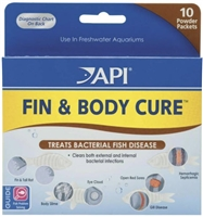 MARS FISHCARE API Fin & Body Cure Powder 10pk