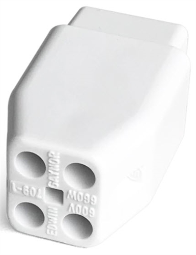 ​Aqua Ultraviolet PART - Lamp End Connector, 4 Holes