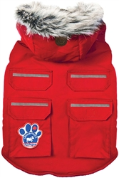 CANADA POOCH EVEREST EXPLORER RED VEST SIZE 8