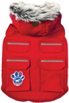CANADA POOCH EVEREST EXPLORER RED VEST SIZE 20