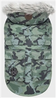 CANADA POOCH EVEREST EXPLORER GREEN CAMO VEST SIZE 8