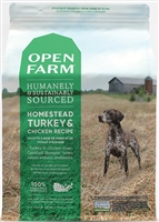 OPEN FARM Turkey & Chicken Grain-Free Dog Food 24 lbs