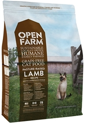 Open Farm Natural & Healthy Dry Cat Food Lamb 4 lb