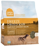 Open Farm Harvest Chicken Recipe - Freeze Dried Raw Grain Free Dog Food 13.5 oz