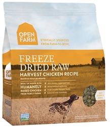 Open Farm Harvest Chicken Recipe - Freeze Dried Raw Grain Free Dog Food