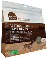 Open Farm Pasture-raised Lamb Freeze Dried Raw Dog Food 13.5OZ