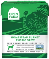 OPEN FARM Turkey Stew for Dogs 12.5 OZ package