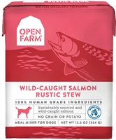 OPEN FARM Wild-Caught Salmon Rustic Stew for Dogs 12.5 OZ pack