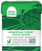 Open Farm Homestead Turkey Rustic Blend for Cats 5.5 OZ