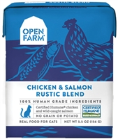 Open Farm Homestead Chicken & Salmon Rustic Blend for Cats 5.5 OZ