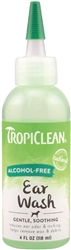 TropiClean Soothing Alcohol Free Ear Wash for Dogs and Cat