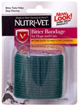 Nutri-Vet  Bitter Bandage for Pets Teal Color