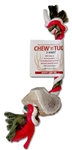 Holiday Chew-n-Tug 2 Knot | Elk Antler Chew | Wapiti Labs, Inc.