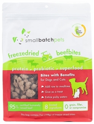 Freeze Dried Raw Freeze-Dried  Bite  Treats |   smallbatch pets
