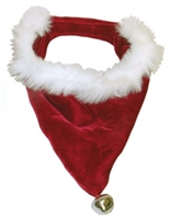 Outward Hound Bandanna Santa Red & White Large - 21 inches