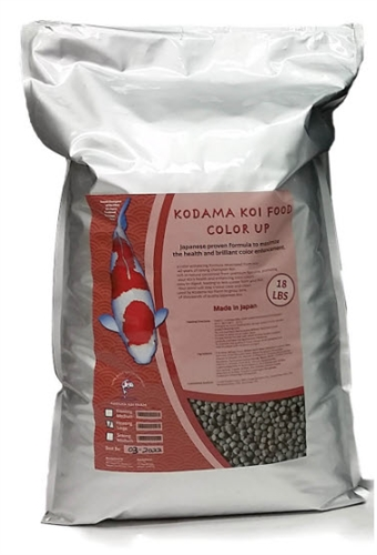 KODAMA Color Up Large Pellets 18 lbs