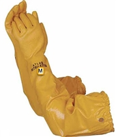 ATLAS Nitrile, 772M, Yellow Water Gardener Gloves, Medium, WG772