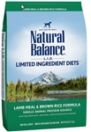 Natural Balance Limited Ingredient Diet Lamb Meal