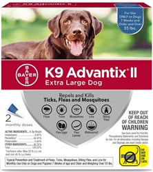 Bayer K9 Advantix® II Flea & Tick Products - Bayer PetBasics