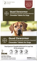 Bayer Quad Dewormer for Large Dogs