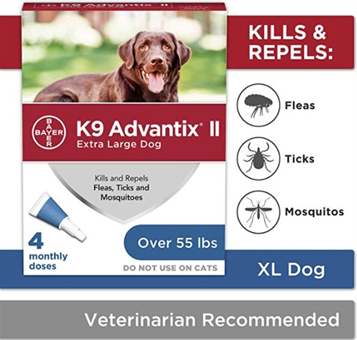 K9 Advantix II - Flea, Tick & Mosquito Repellent for Dogs