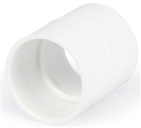 "Atlantic Water Gardens DURA 3"" SLIPxSLIP PVC straight white coupling 429-030"