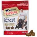 Bil-Jac Vetdogs Skin and Coat Soft Treats