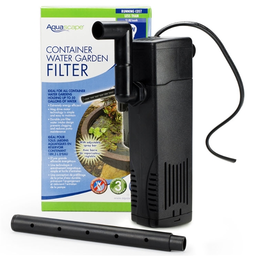 AQUASCAPE Container Water Garden Filter  [77005]