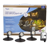 AQUASCAPE Garden and Pond LED Spotlight Kit  3 Watt
