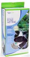 AQUASCAPE PROTECTIVE POND NETTING 28' X 30'