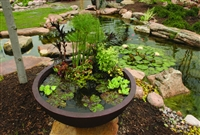 AQUASCAPE European Terra Cotta Patio Pond 32 inch