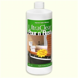 UltraClear Pour n' Flush Septic Treatment, 32 oz