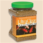 ULTRACLEAR GROWTH & COLOR FORMULA KOI FOOD 2 LBS