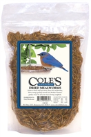 Cole's Dried Mealworms 3.52 ounces