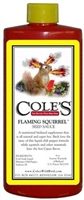 COLE'S Flaming Squirrel Seed Sauce 8 OZ