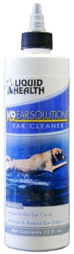 LIQUID HEALTH K9 Ear Solutions 12 fluid oz