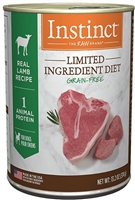 Nature's Variety Instinct® Limited Ingredient Diet Real Lamb Recipe Wet Dog Food 12-13.2 oz case