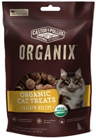 Castor & Pollux ORGANIX Organic Cat Treats - Chicken Recipe 2 oz