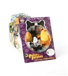 "Multipet Look Who's Talking Plush & Sound Cat Toy 2"" Jar of 40"