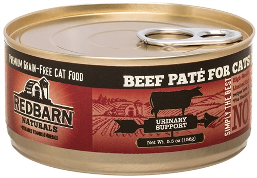 REDBARN Beef Pate Recipe For Urinary Support 24-5.5 oz cans