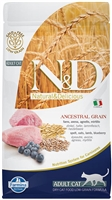 Farmina Natural & Delicious ANCESTRAL GRAIN Lamb and blueberry recipe for Cats 3.3 lbs