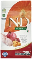 Farmina Natural & Delicious Grain-Free Pumpkin Quail & Pomegranate Adult Cat  3.3 lb
