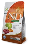 Farmina  N&D Pumpkin Venison & Apple Adult Cat Food 3.3 lb