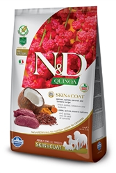 Farmina Quinoa SKIN&COAT Venison, quinoa, coconut for Dogs 15.4 lbs