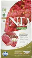 Farmina Natural & Delicious  URINARY Duck for Cats with quinoa, cranberry and chamomile recipe 3.3 lbs