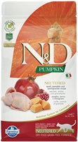 Farmina N&D Pumpkin Quail & Pomegranate Neutered 11LB